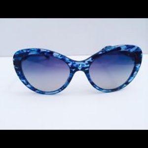 Tiffany & Co. Blue Havana Sunglasses
